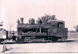Deutschesbahn, Poméranie Occidentale, Kleinbahn Greifswald-Wolgast, Lok Vulkan, Photo 1934 BVA KGW 606.5 - Trenes