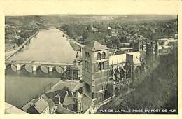026 498- CPA - Belgique - Huy - Vue De La Ville  Prise Du Fort De Huy - Huy