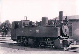 Deutschesbahn, Poméranie Occidentale, Kleinbahn Greifswald-Wolgast, Lok Vulkan, Photo 1934 BVA KGW 606.6 - Treinen