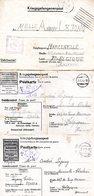 6 Formulaires Kriegsgefangenenpost Prisonnier De Guerre 1939/45 Stalag IV A HOHENSTEIN + Censures , 2 Scans PRIX FIXE !! - Documents
