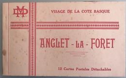 C. P. A. : 64 ANGLET : Carnet Complet De 12 Cartes Postales Anciennes De ANGLET LA FORET - Anglet