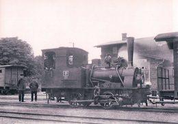 Deutschesbahn, Poméranie Occidentale, Franzburger Kreisbahn In Barth, Lok Vulkan, Photo 1934 BVA FKB 606.8 - Treinen