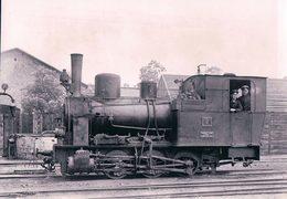 Deutschesbahn, Poméranie Occidentale, Franzburger Kreisbahn In Barth, Lok Henschel, Photo 1934 BVA FKB 606.10 - Treinen
