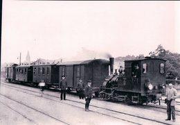 Deutschesbahn, Poméranie Occidentale, Franzburger Kreisbahn, Personnenzug In Barth, Photo 1934 BVA FKB 606.11 - Treinen