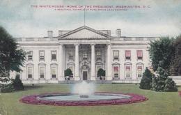 WASHINGTON D.C. , 1909 ; White House - Washington DC