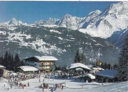 74. SAINT GERVAIS LES BAINS. ANIMATION. LE BETTEX ET LES AIGUILLES DE CHAMONIX. ANNEE 1994 + TEXTE - Saint-Gervais-les-Bains