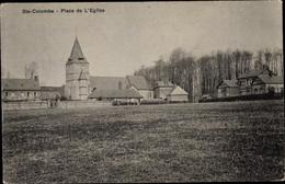 Cp Sainte Colombe Eure, Place De L'Église - France