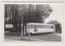 Dilbeek   De Tram A Verlaat De Ninoofsesteenweg Richting Itterbeek     TRAM TRAMWAY - Dilbeek