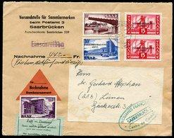 Occupation En Allemagne ; Sarre Document N°8, Saarland - Sarre