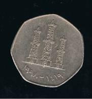 EMIRATOS ARABES UNIDOS - 50 Fils 1998   KM16 - Verenigde Arabische Emiraten
