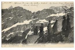 Refuge Chancrel Et Col De La Lauze LL 521, Envoi 1906, Dos Simple - Non Classés
