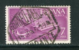 ESPAGNE- P.A Y&T N°275- Oblitéré - Posta Aerea