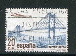 ESPAGNE- P.A Y&T N°199- Oblitéré - Posta Aerea