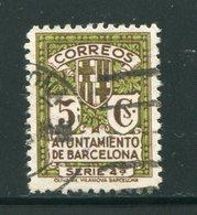 ESPAGNE- Barcelone- Y&T N°17- Oblitéré - Barcelona