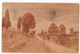 Cartolina-Postcard, Viaggiata (sent), Roma, Via Appia, Carabinieri A Cavallo - Otros