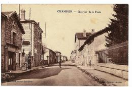 CHAMPIER (38) Quartier De La Poste. Ed. Guillaud - Sonstige Gemeinden