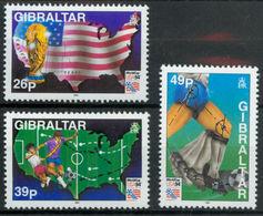 Gibraltar, 1994, 3 Stamps - 1994 – USA