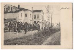 Cartolina-Postcard, Viaggiata (sent), Mitrovitza, Soldati - Kosovo