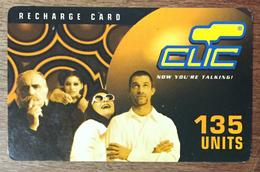 LIBAN CLIC DE CELLIS RECHARGE GSM 135U EXP 12/08/2003 PHONECARD PAS TELECARTE CARTE TÉLÉPHONIQUE PRÉPAYÉE - Libano