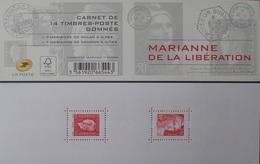 2368 - 2015 - MARIANNE DE LA LIBERATION - N°1522 CARNET NEUF** - Cote (2020) : 50,00 € - Commémoratifs