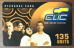 LIBAN CLIC DE CELLIS RECHARGE GSM 135U EXP 30/04/2004 PHONECARD PAS TELECARTE CARTE TÉLÉPHONIQUE PRÉPAYÉE - Libano