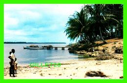 TRINIDAD & TOBAGO - VISITOR'S TO NYLON POOL AND NATURAL AQUARIUM AT BUCCOO POINT - ANIMATED - - Trinidad