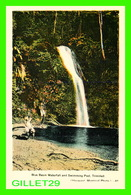 TRINIDAD & TOBAGO - BLUE BASIN WATERFALL AND SWIMMING POOL - ANIMATED -  DOMINION CREST - PECO - - Trinidad