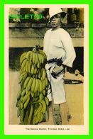 TRINIDAD & TOBAGO - THE BANANA VENDOR - ANIMATED -  DOMINION CREST - PECO - - Trinidad