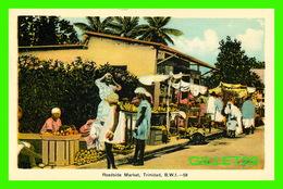 TRINIDAD & TOBAGO - ROADSIDE MARKET - ANIMATED -  DOMINION CREST - PECO - - Trinidad