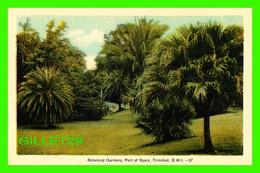TRINIDAD & TOBAGO - BOTANICAL GARDENS IN PORT OF SPAIN -  DOMINION CREST - PECO - - Trinidad