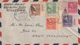 LETTRE - USA - Miami Beach 12/04/1945 - Etats-Unis