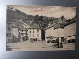 Cantal, Chaudes-Aigues, Place Du Marché. - Altri Comuni