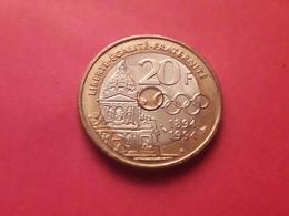 20fr 1994 Pierre De Coubertin - Munten & Bankbiljetten