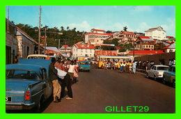 TRINIDAD & TOBAGO - SHOWING A PART OF UPPER SCARBORO - WELL ANIMATED - PUB, BY H. O, THOMAS - - Trinidad