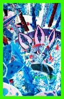 TRINIDAD & TOBAGO - CARNIVAL MAS' PLAYER - COSTUME DETAIL - SYNCOLOR POST CARD - - Trinidad