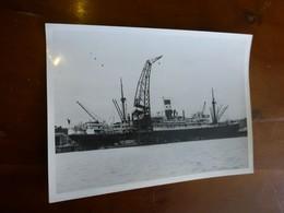 """Paquebot """"Cap Tourane"""" à BORDEAUX"""", Chargeurs Réunis, Photo Originale Vers 1948 13x18, Ref 1514 ; FOTO 01 - Barche"""