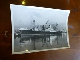 """Navire De Charge """"Dalva"""""""", Chargeurs Réunis, Photo Originale Vers 1948 13x18, Ref 1515 ; FOTO 01 - Bateaux"""