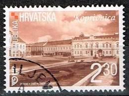 Kroatien 2007,Michel# 823 AS O  Croatian Towns (V): Koprivnica - Kroatië