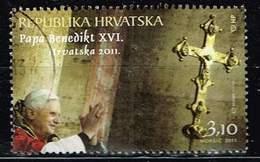 Kroatien 2011,Michel# 989 O Visit Of Pope Benedict XVI To Croatia - Kroatië