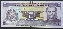 EM0407 - Honduras 2 Iempiras Banknote 2014 #AE5631198 UNC P.97 - Honduras