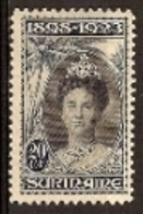 Suriname NVPH Nr 106 Postfris/MNH Regeringsjubileum Koningin Wilhelmina 1923 - Surinam ... - 1975