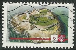 2019 Yt Adh 17XX (o) Patrimoine Fort Cigogne - Bretagne - Oblitérés