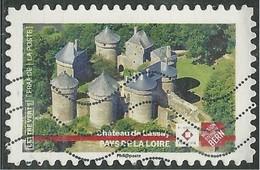 2019 Yt Adh 17XX (o) Patrimoine Château De Lassay - Pays De La Loire - Oblitérés