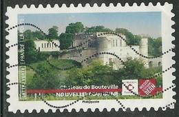 2019 Yt Adh 17XX (o) Patrimoine Château De Bouteville - Nouvelle-Aquitaine - Oblitérés
