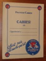 PROTÈGE CAHIER - LA VACHE QUI RIT - Animaux Animés Par Rabier - Années 50 - 18.5x24- Bon état D'usage : Voir Photos - 08 - Protège-cahiers
