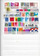 Netherlands MNH Lot About 60 Stamps - Timbres