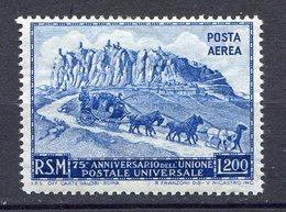 -SAN MARINO 1950 - POSTA AEREA U.P.U. N° 82  MNH** - Parcel Post Stamps