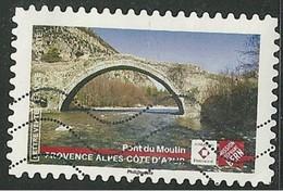 2019 Yt Adh 17XX (o) Patrimoine Pont Du Moulin - Provence-Alpes-Côted'Azur - Oblitérés