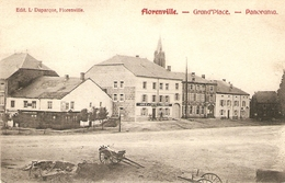 Florenville : Grand'Place  -- Panorama 1908 - Florenville