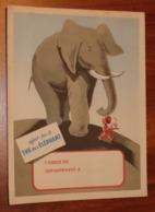 PROTÈGE CAHIER - THÉ DE L'ÉLÉPHANT - Années 50 - 18x24 - Bon état D'usage : Voir Photos - 10 - Protège-cahiers